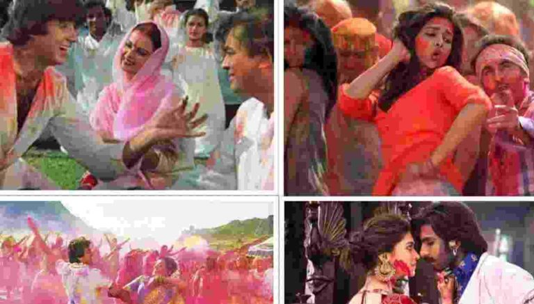 Bollywood Movies WIth Holi THeme