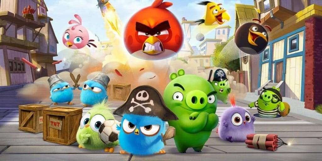 Angry Bird: Summer Madness Web series