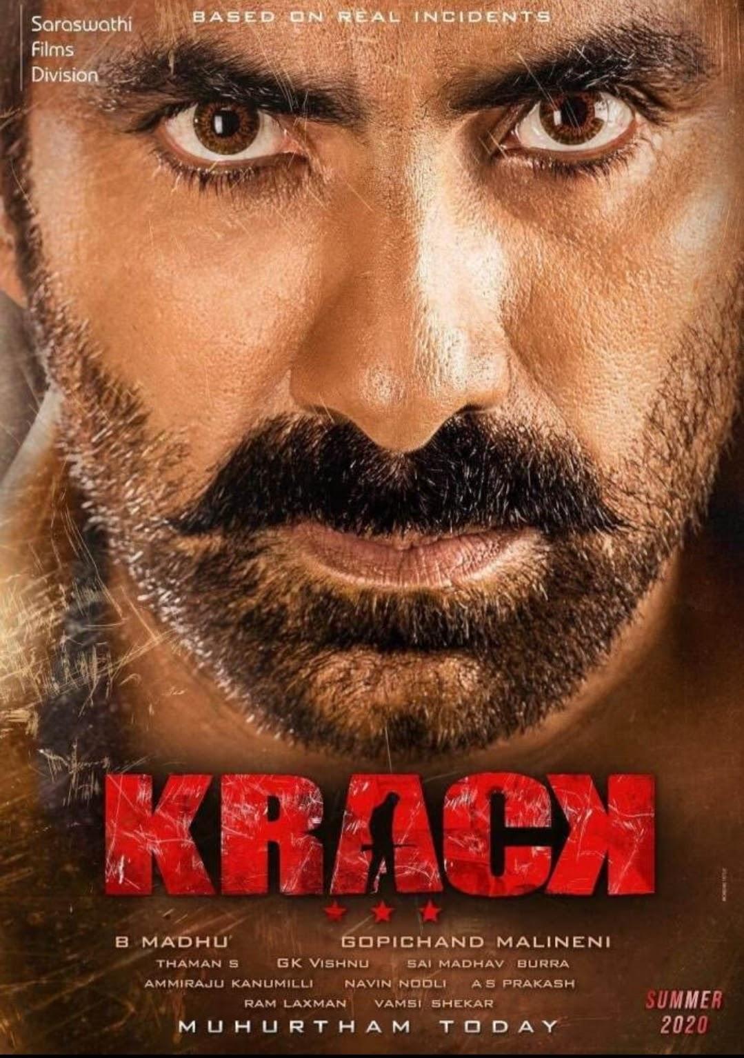 Krack Full Movie Download Leaked By Tamilrockers