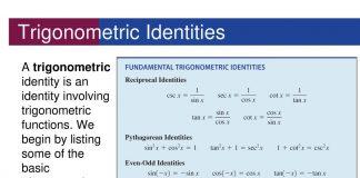 Trigonometrical Identities